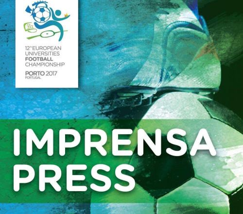 Press accreditation procedure for the European Universities Football Championship